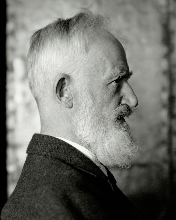 A Portrait George Bernard Shaw Photograph by Nickolas Muray