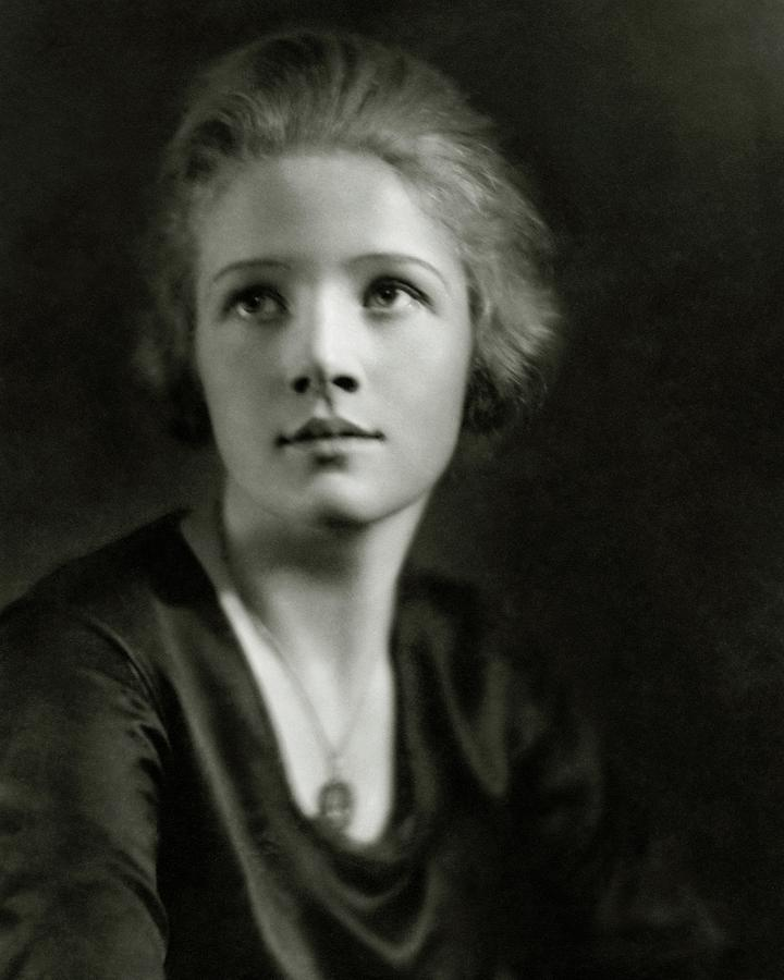 A Portrait Of Ann Harding Photograph by Nickolas Muray