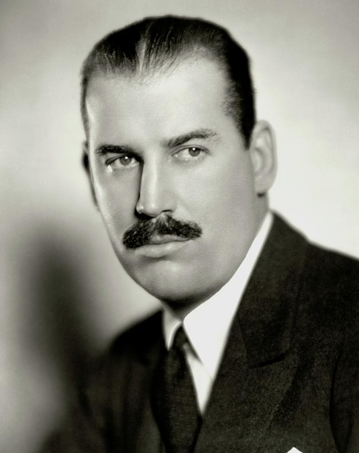 A Portrait Of Charles G. Shaw Photograph by Nickolas Muray
