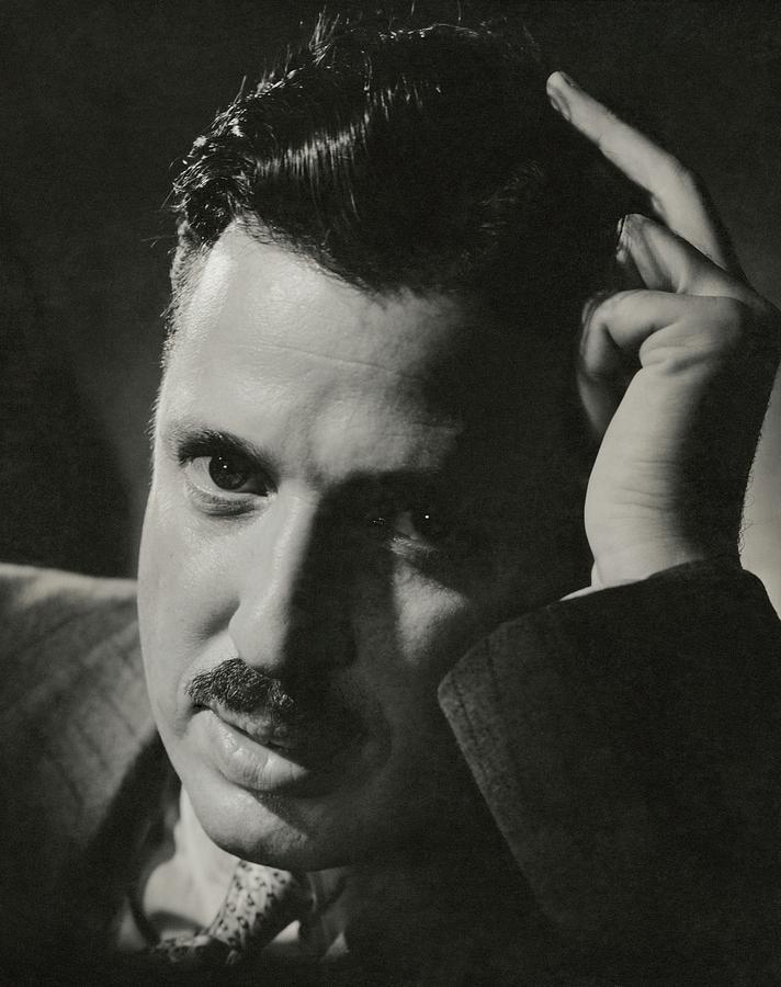 A Portrait Of Donald Deskey Photograph by Anton Bruehl