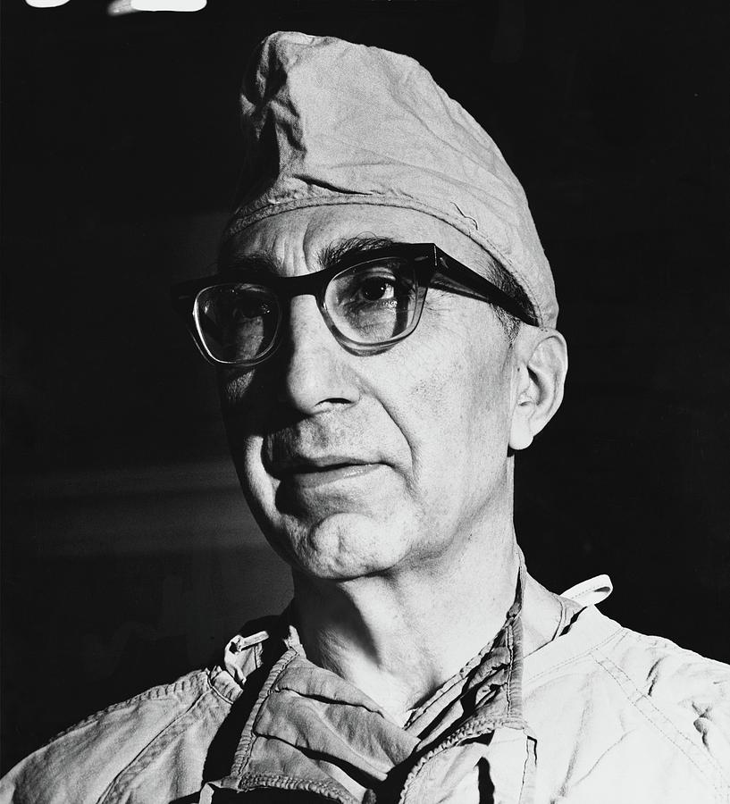 A Portrait Of Dr. Michael Debakey Photograph by Horst P. Horst