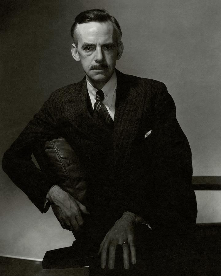 Personality Photograph - A Portrait Of Eugene Oneill by Edward Steichen