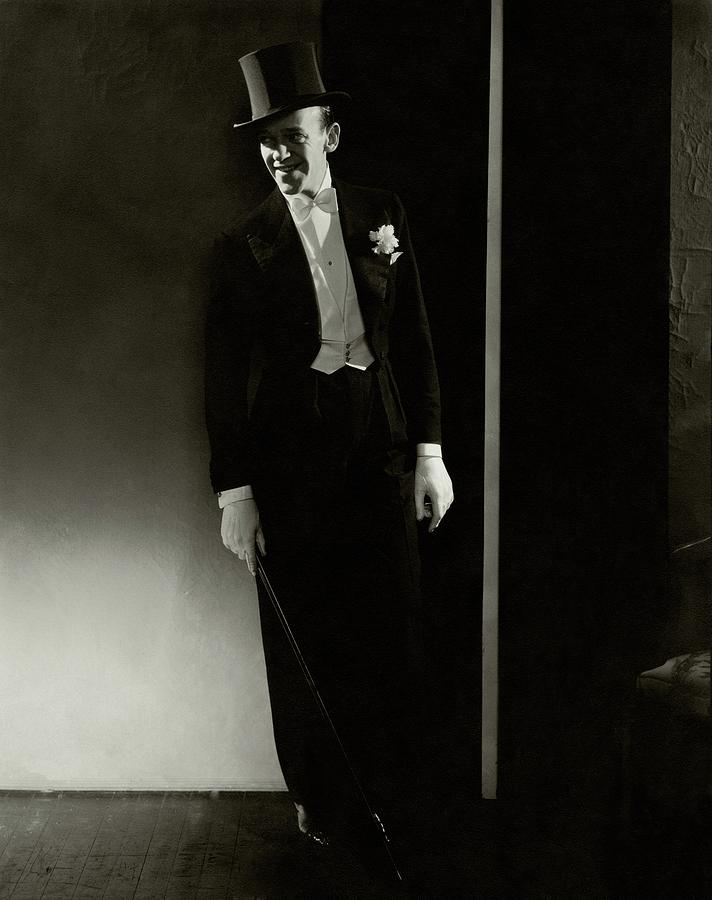 A Portrait Of Fred Astaire Photograph by Edward Steichen