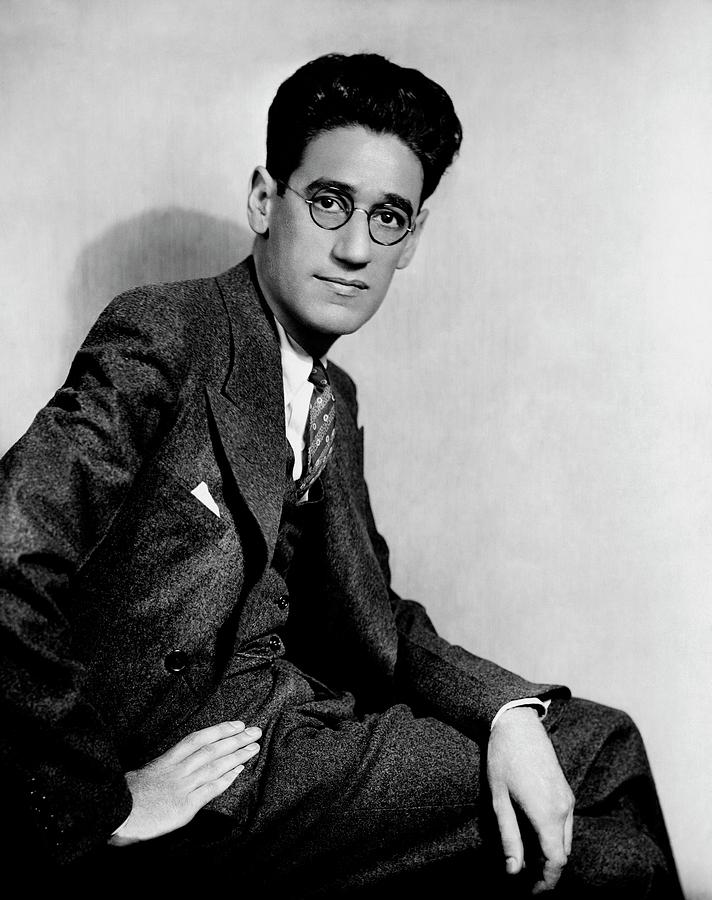 A Portrait Of George S. Kaufman Photograph by Florence Vandamm