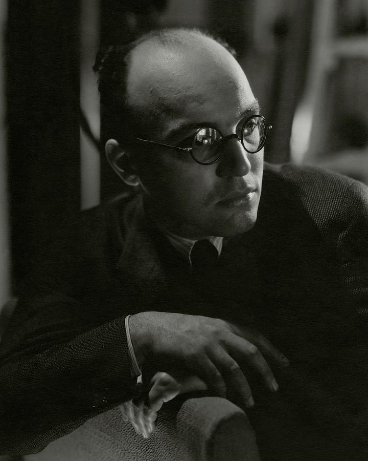 A Portrait Of Kurt Weill Photograph by George Hoyningen-Huene