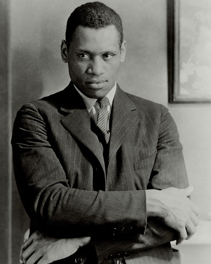 A Portrait Of Paul Robeson Photograph by Ralph Steiner