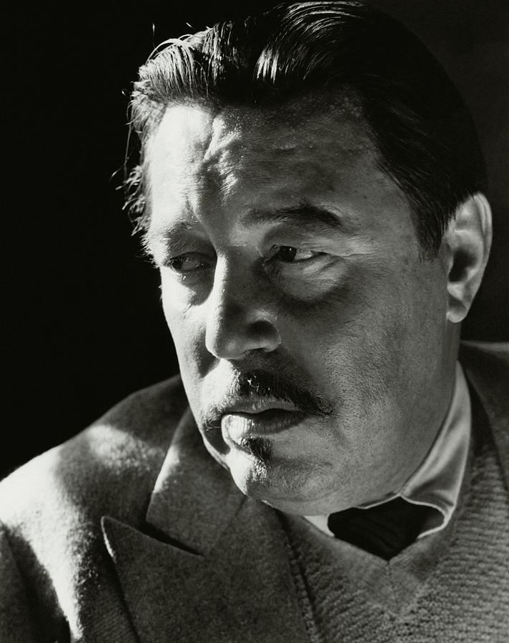 A Portrait Of Warner Oland Photograph by Imogen Cunningham