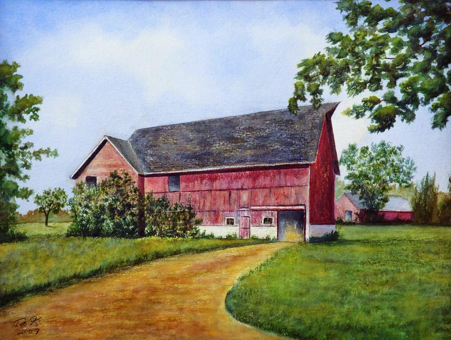 Landscape Painting - A Proud Past by Thomas Kuchenbecker