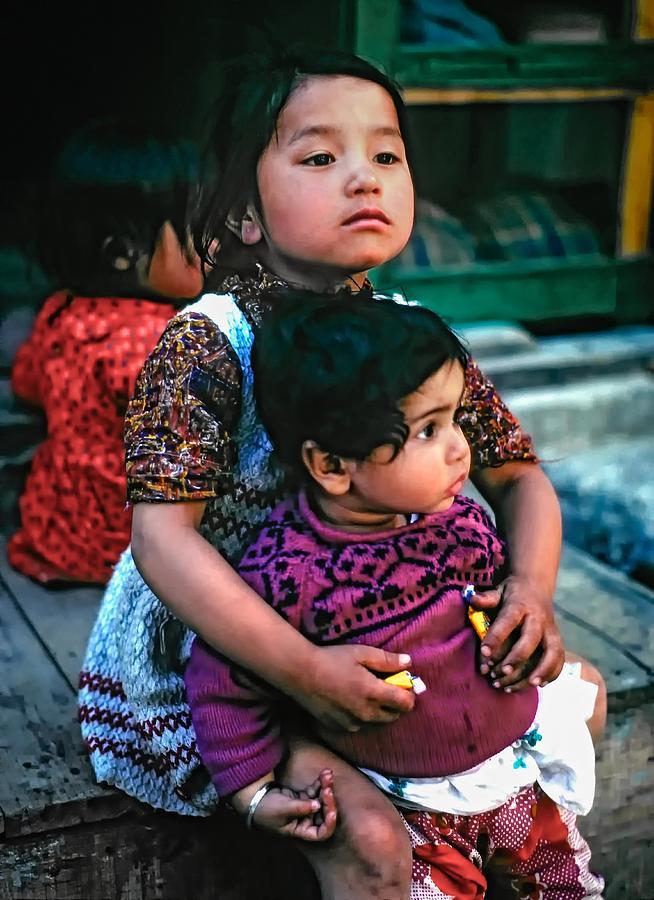 India Photograph - A Proud Sister by Steve Harrington