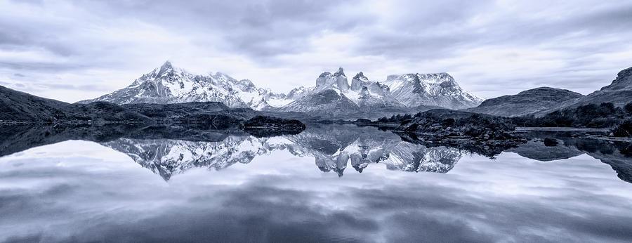 Patagonia Photograph - A Quiet Day by Carlos Guevara Vivanco