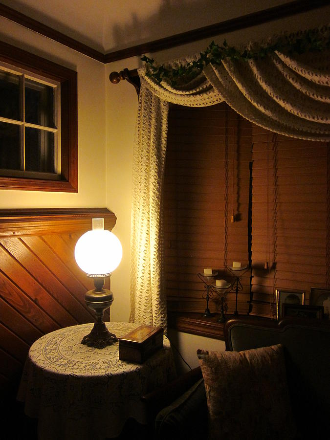 Indoors Photograph - A Quiet Little Corner by Guy Ricketts