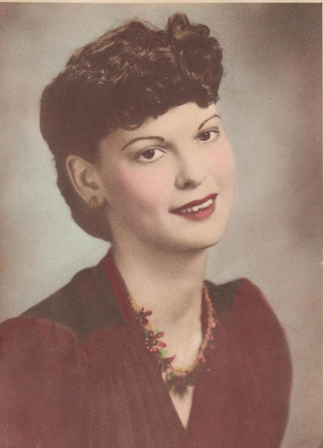 Old Photographs Photograph - A Real Lady by Donna Wilson