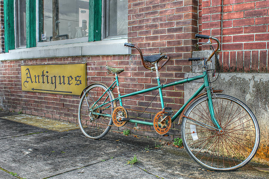 Tandem Bicycle Photograph - A Ride For Two by Lynn Jordan