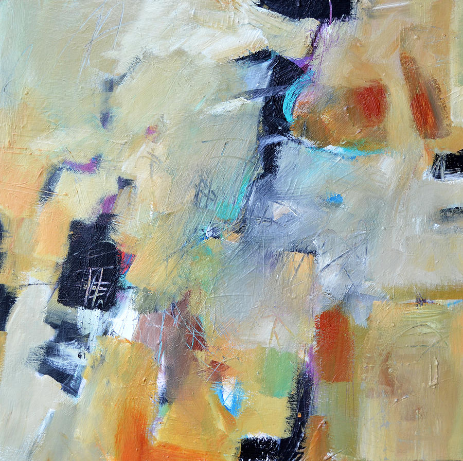Abstract Painting - A River Runs Through It by Filomena Booth