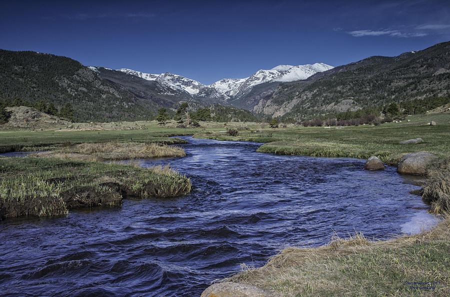 Thompson River Photograph - A River Runs Thru It by Tom Wilbert