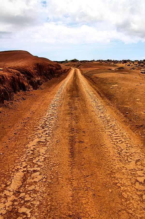 Lanai Photograph - A Road Less Traveled by DJ Florek