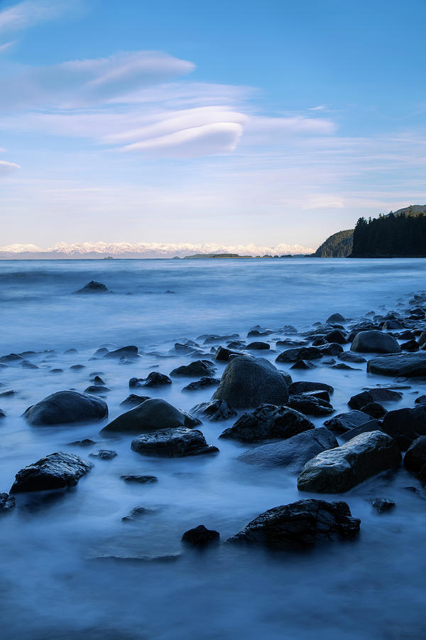 A Rocky Shoreline Exposed During Low Photograph by John Hyde / Design Pics