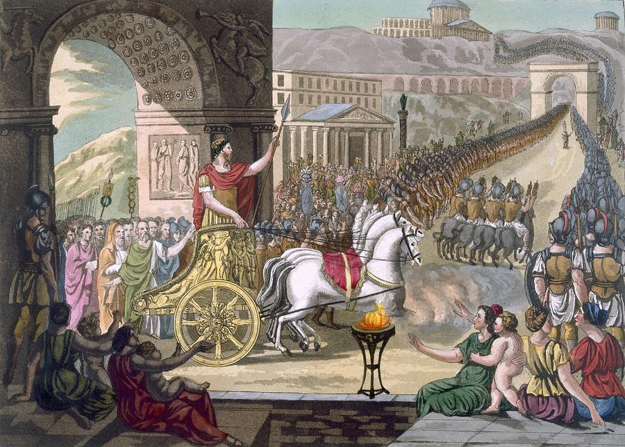 Image result for roman triumph