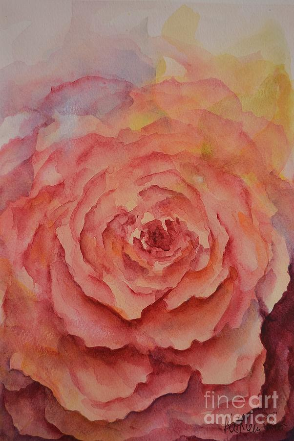 Roses Painting - A Rose Beauty by Kathleen Pio