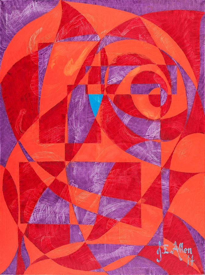 Tango in Red by Joseph Allen