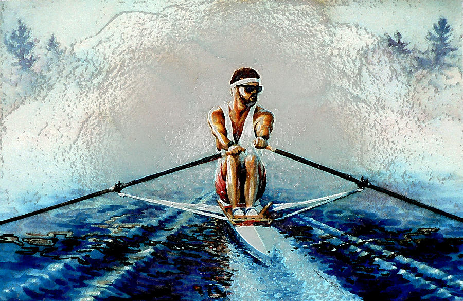 A Rowers Dream Painting
