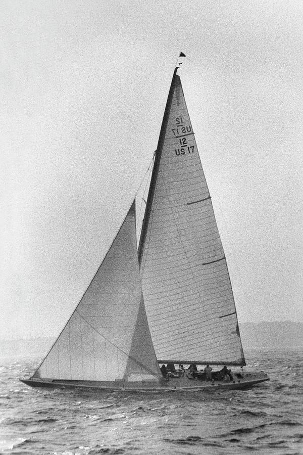 A Sailboat Photograph by Toni Frissell