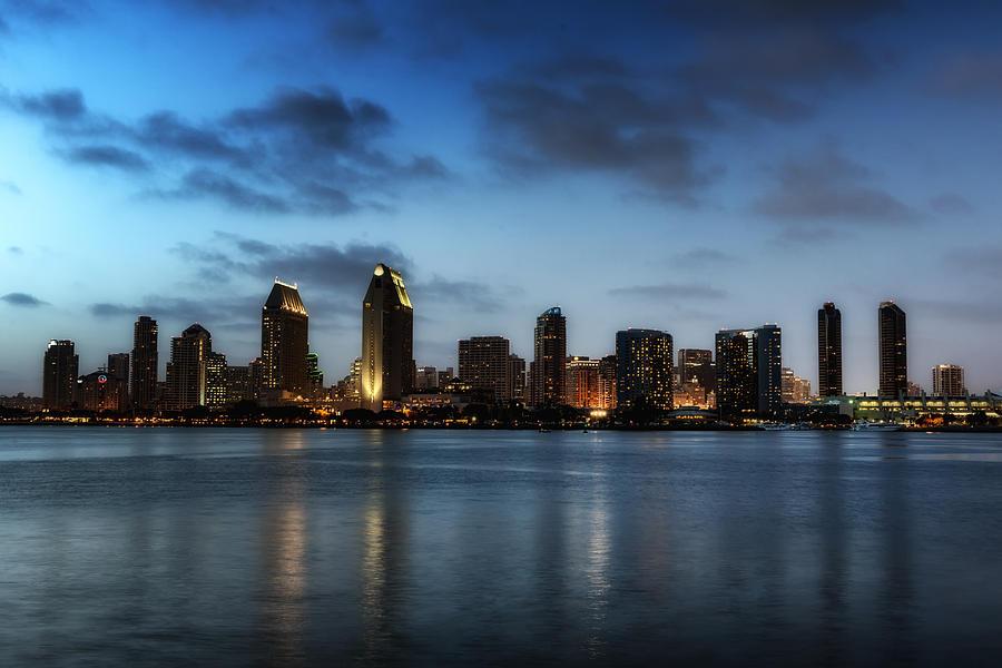 San Diego Photograph - A San Diego Evening by Mountain Dreams