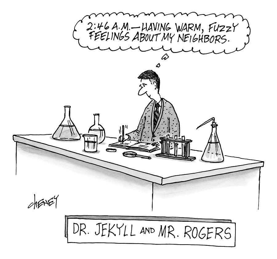A Scientist Who Looks Like Mr  Rogers Is Writing