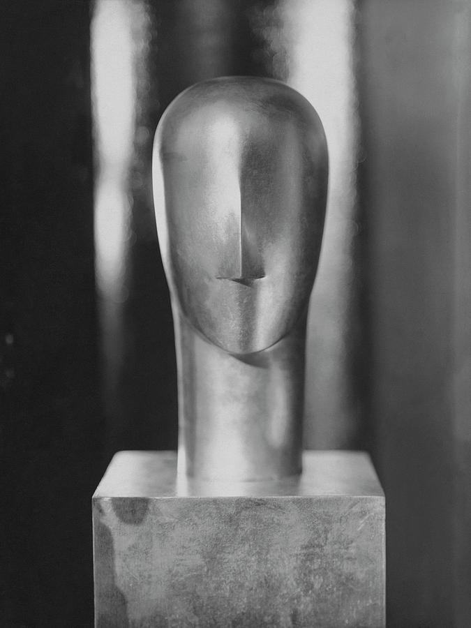 A Sculpture By Siegel Photograph by George Hoyningen-Huene