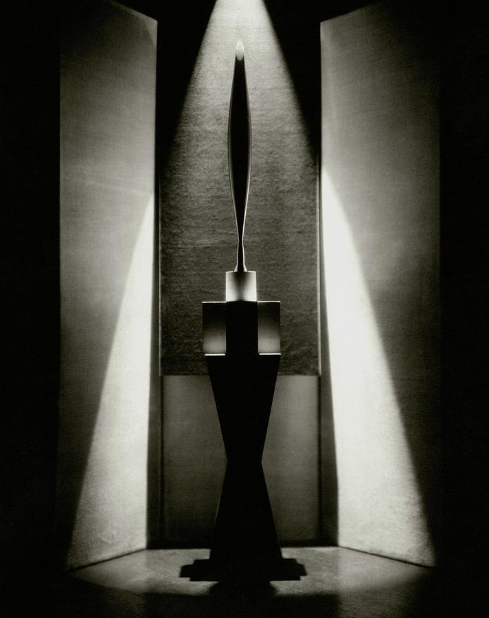 A Sculpture Called The Bird Photograph by Edward Steichen