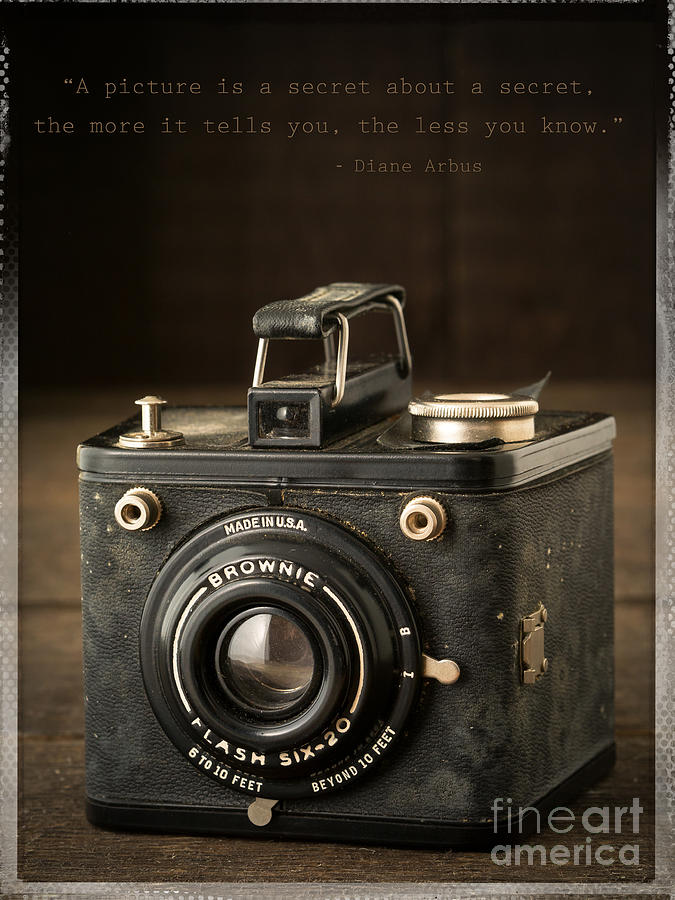 Camera Photograph - A Secret About A Secret by Edward Fielding