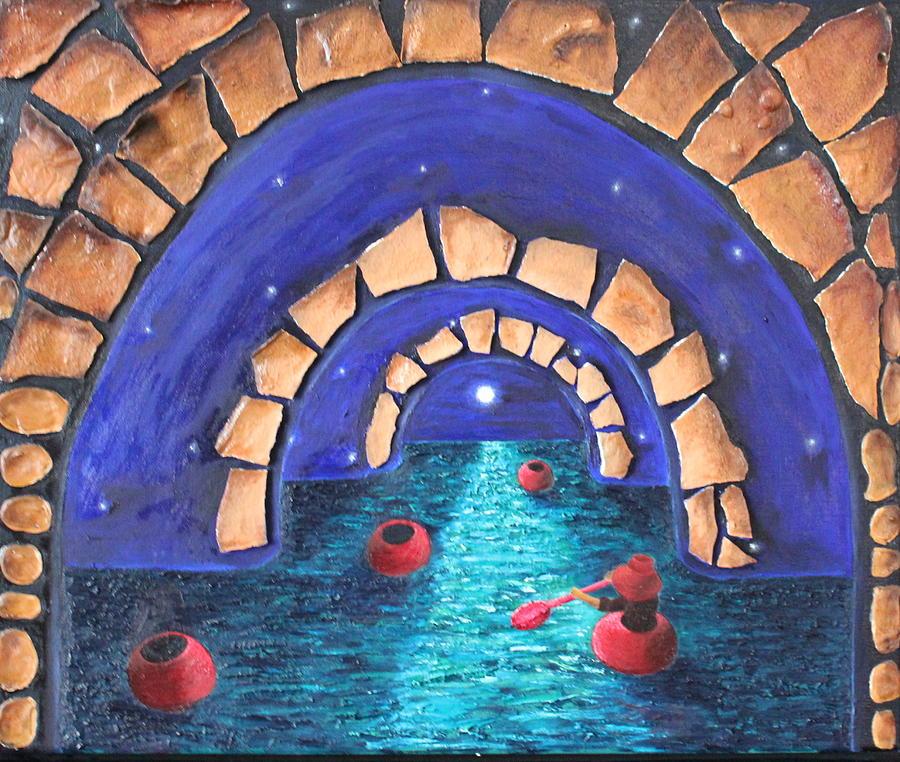 Sea Painting - A Seeker by Margarita Gokun