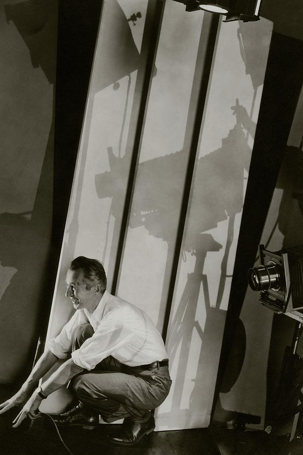 A Self-portrait Of Edward Steichen Photograph by Edward Steichen
