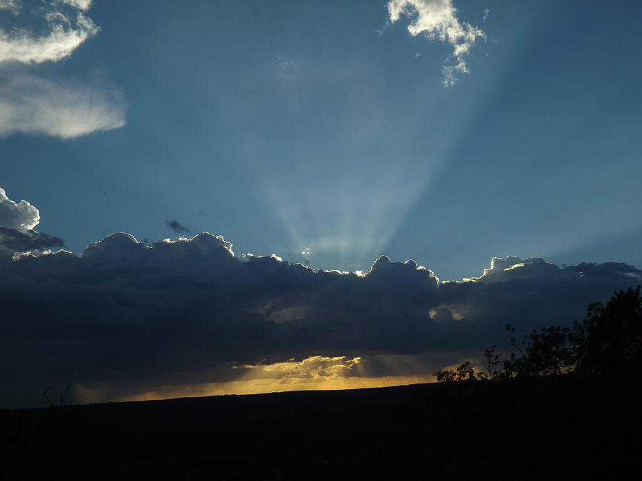 A September Sunset Photograph - A September Sunset by Rebecca Cearley