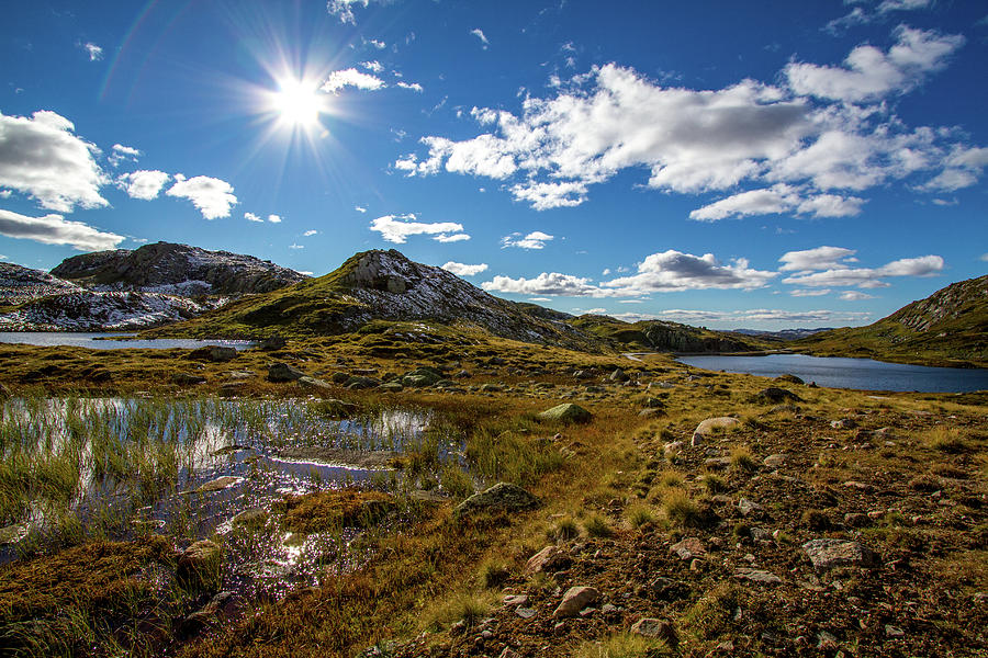 A Shiny Autumn Day In The Mountains Photograph by Baac3nes