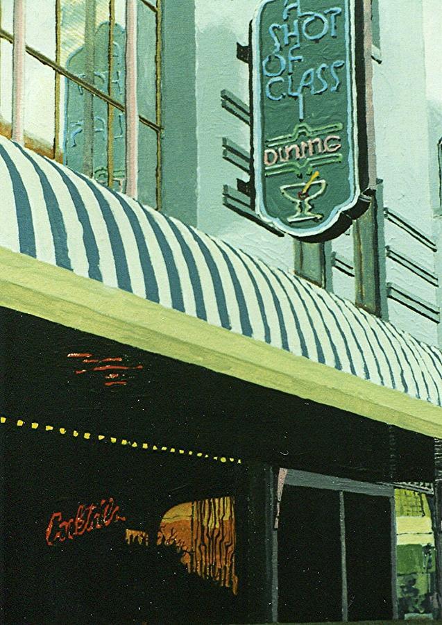 Sacramento Painting - A Shot Of Class by Paul Guyer