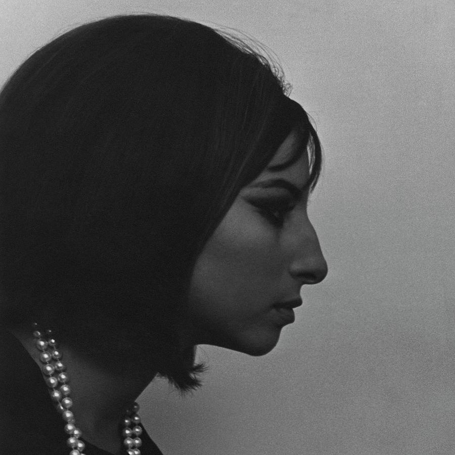 A Side View Of Barbra Streisand Photograph by Cecil Beaton
