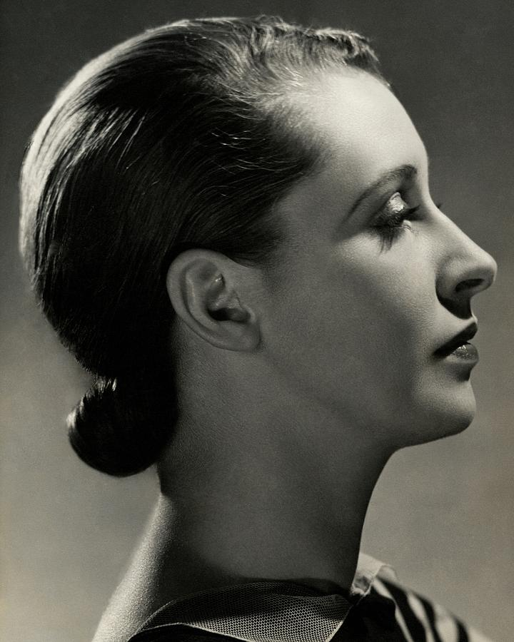 A Side View Of Marion Morehouse Photograph by Nickolas Muray