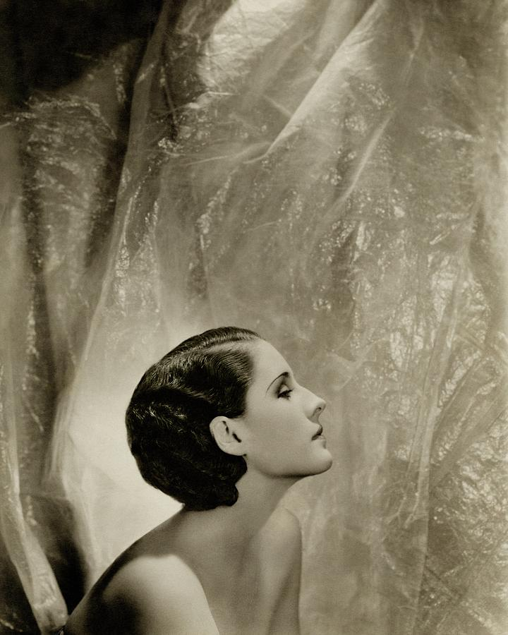 A Side View Of Norma Shearer Photograph by Cecil Beaton
