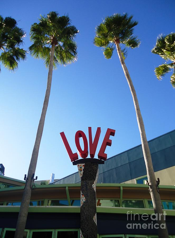 Love Photograph - A Sign Of Love by Ann Johndro-Collins