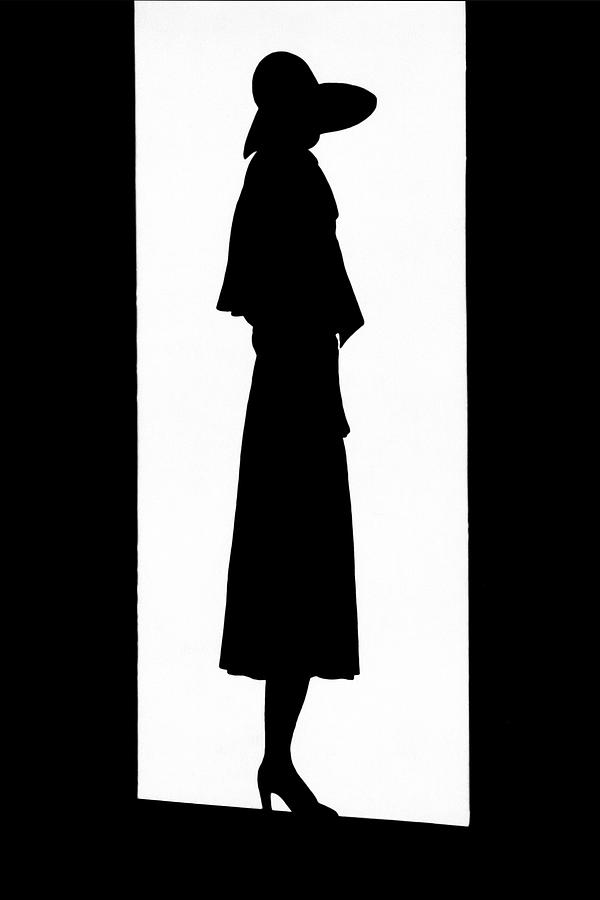 A Silhouetted Woman Photograph by  Barre