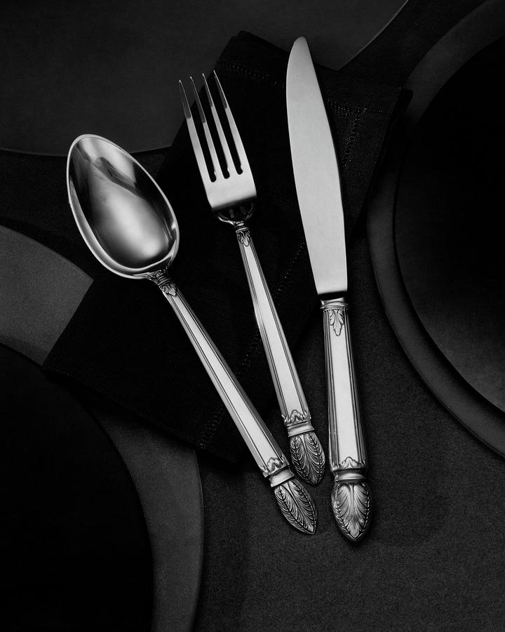 A Silver Spoon Photograph by Martin Bruehl