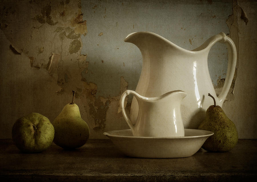 Pear Photograph - A Simpler Time by Amy Weiss