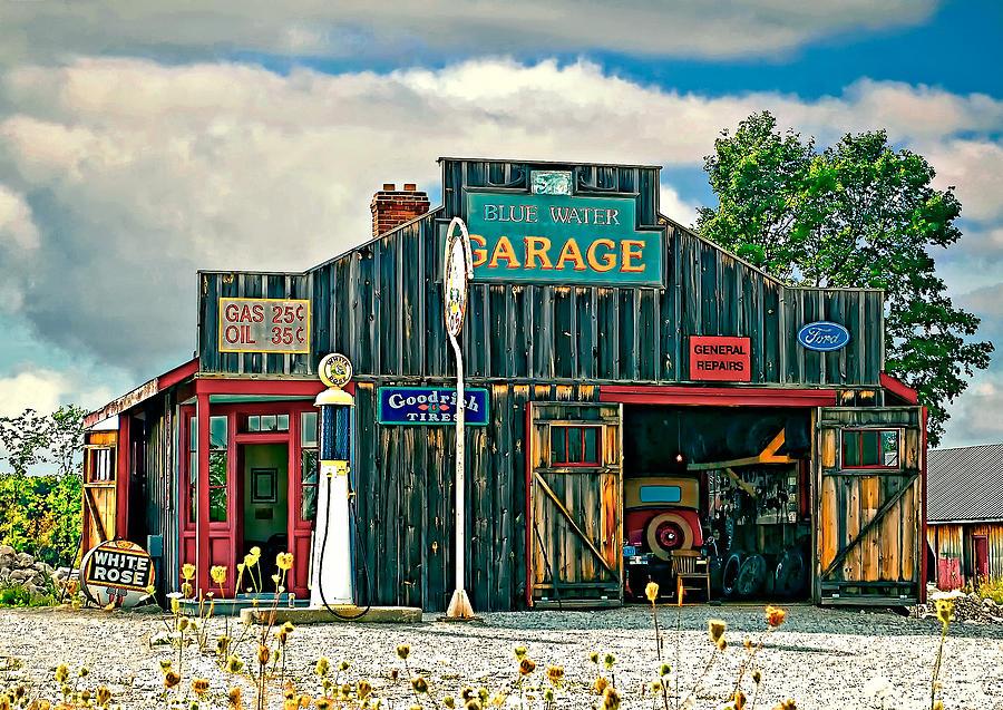 Oil Photograph - A Simpler Time by Steve Harrington