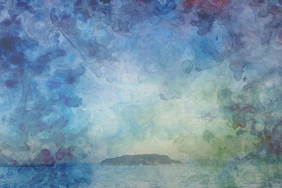 Island Photograph - A Small Island by Beverly Claire Kaiya
