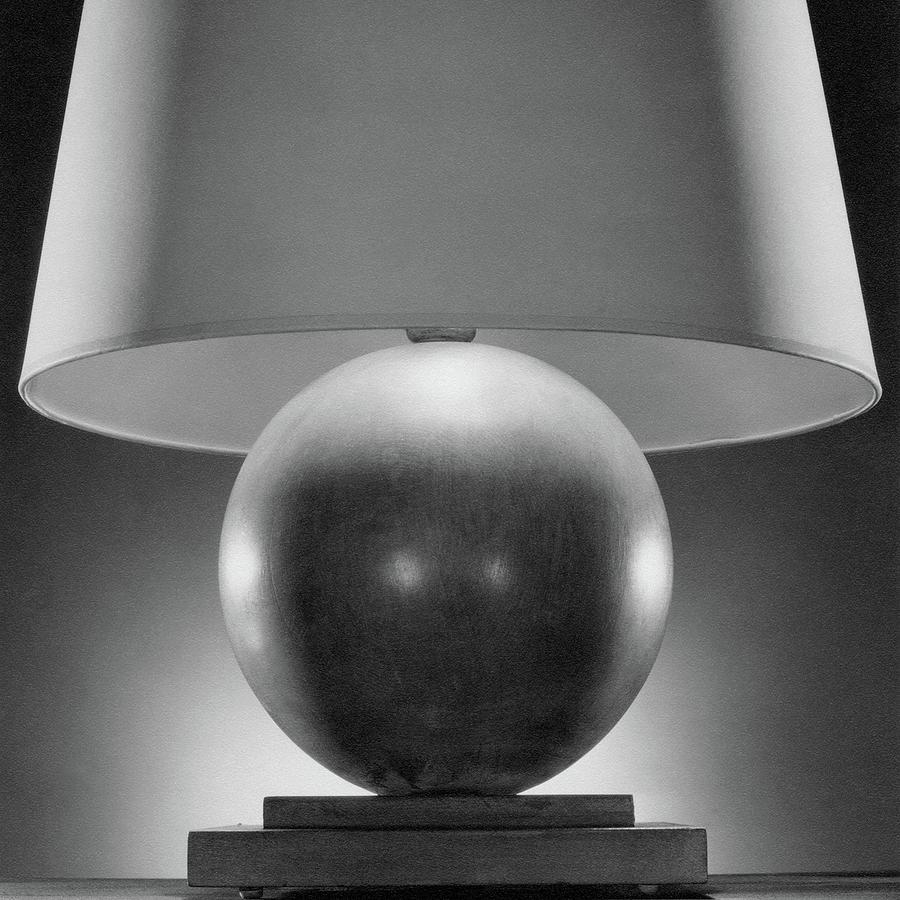 A Spherical Lamp By Joseph Mullen Photograph by Peter Nyholm