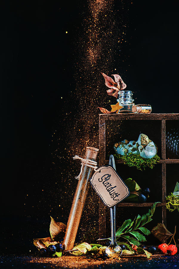 Stardust Photograph - A Spoonful Of Stardust by Dina Belenko
