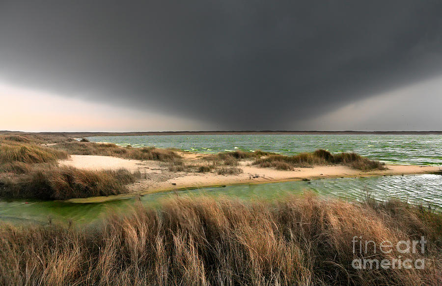 Outer Banks Photograph - A Storm A Coming - Outer Banks I by Dan Carmichael