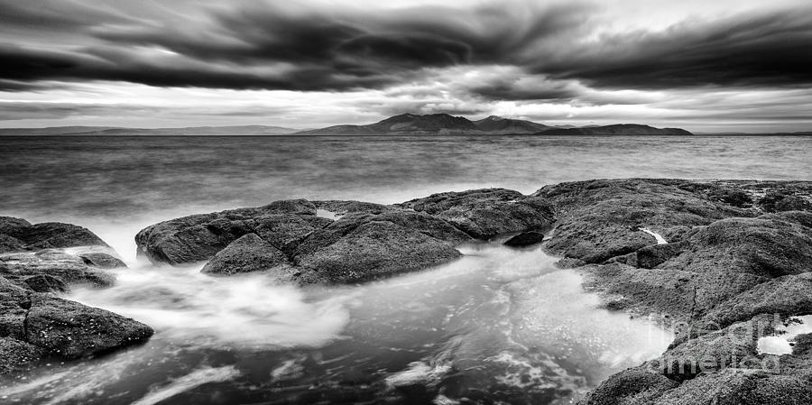 Arran Photograph - A Storm Brewing by John Farnan