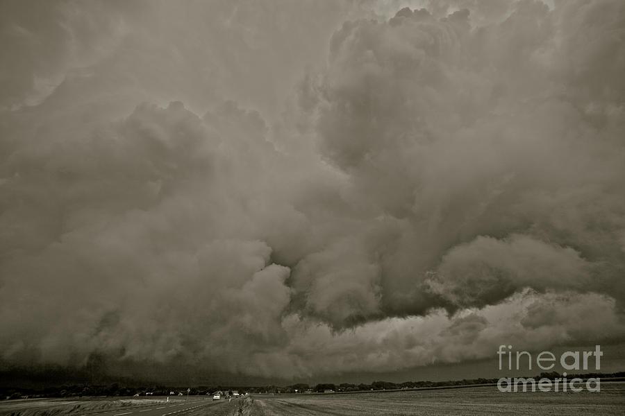 Landscape Photograph - A Storm Broke Magic Landscape. Free Europe. by  Andrzej Goszcz